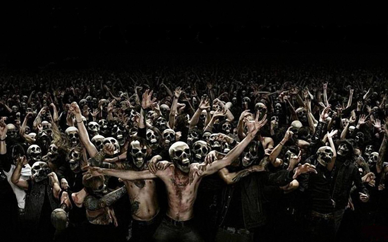Pics For Heavy Metal Skeleton Wallpapers
