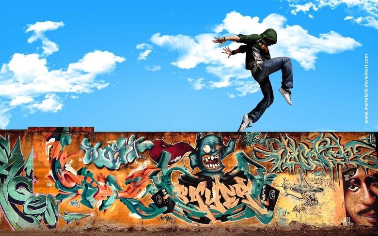 Dance Hip Hop In Street By Marrakchi Dqe Wallpapers