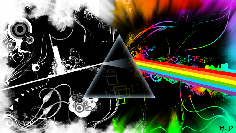 Wallpapers Music Wallpapers Pink Floyd logo Pink Floyd Remix by
