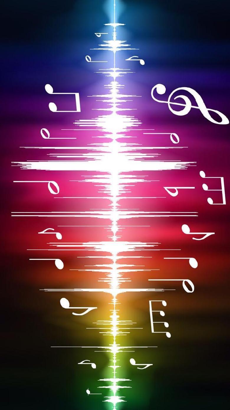 music rainbow Wallpapers by ixtabixtab