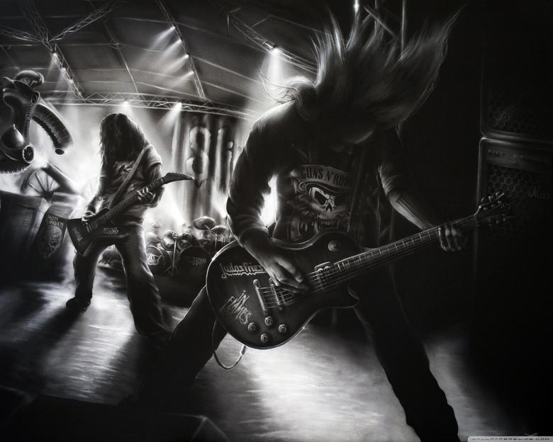 Metal Rock Band 4K HD Desktop Wallpapers for 4K Ultra HD TV Wide
