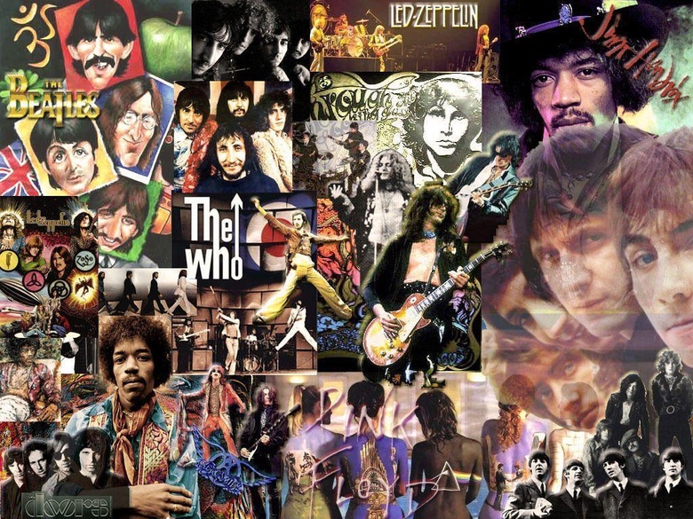 Rock N Roll Collage