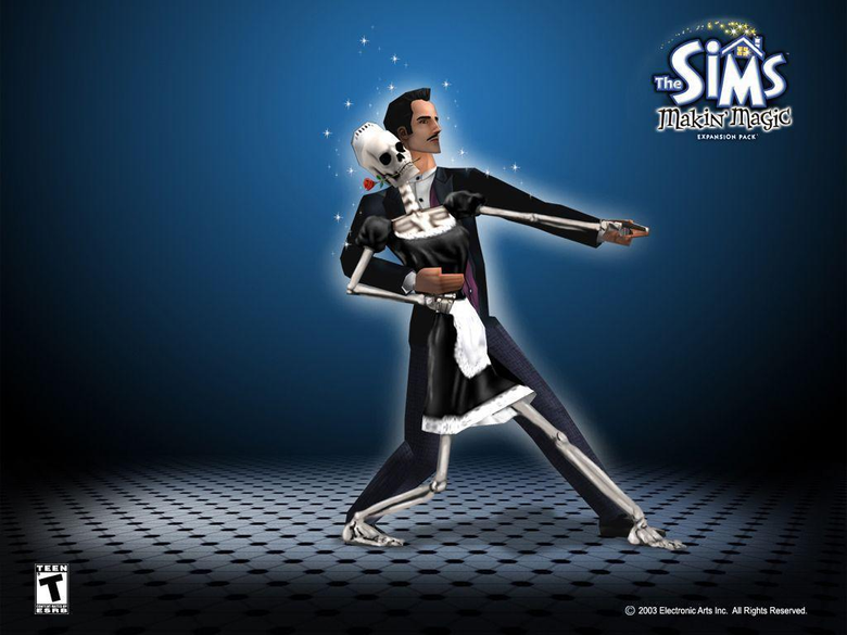 sims undead tango wallpapers