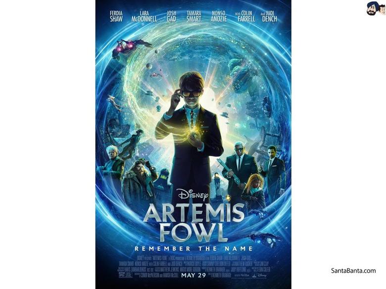 Artemis Fowl Movie Wallpapers