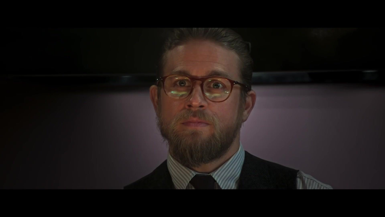 Persol PO3205V Eyeglasses Worn by Charlie Hunnam in The
