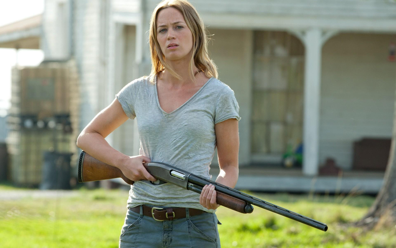 Looper Emily Blunt Android wallpapers for
