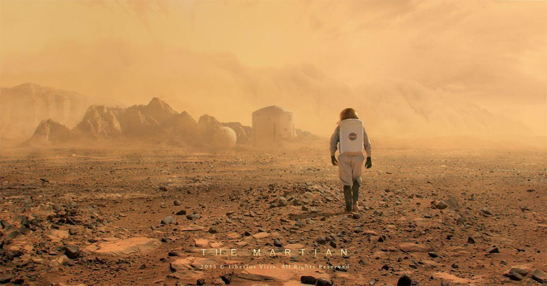 The Martian by Andy Weir favourites by Padzi