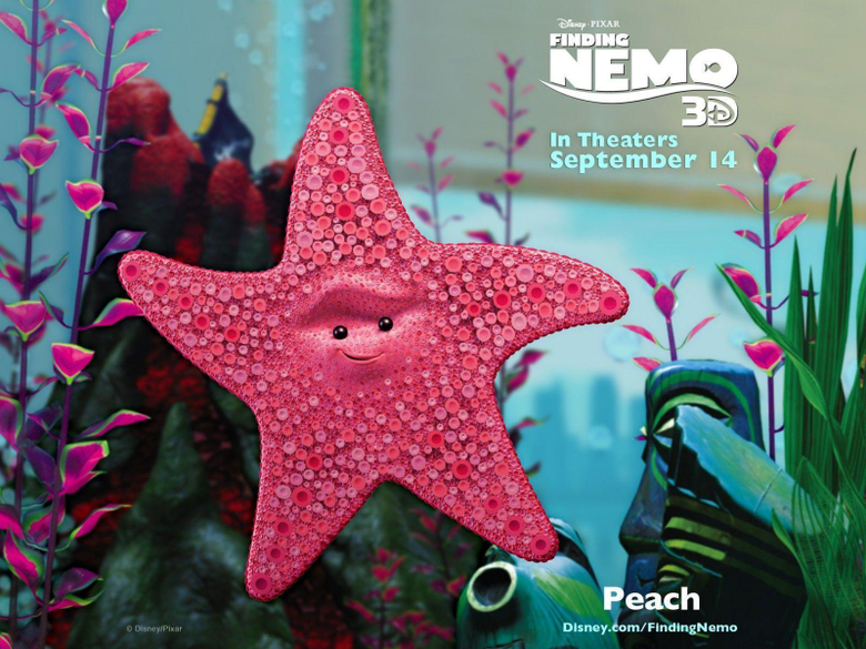 Finding Nemo Peach Wallpapers