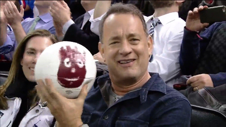 Tom Hanks reunites with his Cast Away co
