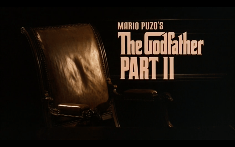The Godfather Part II How Films Think Meg Weck