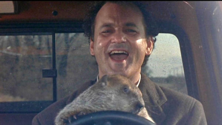 Bill Murray Reenacts Groundhog Day By Going To See Groundhog Day