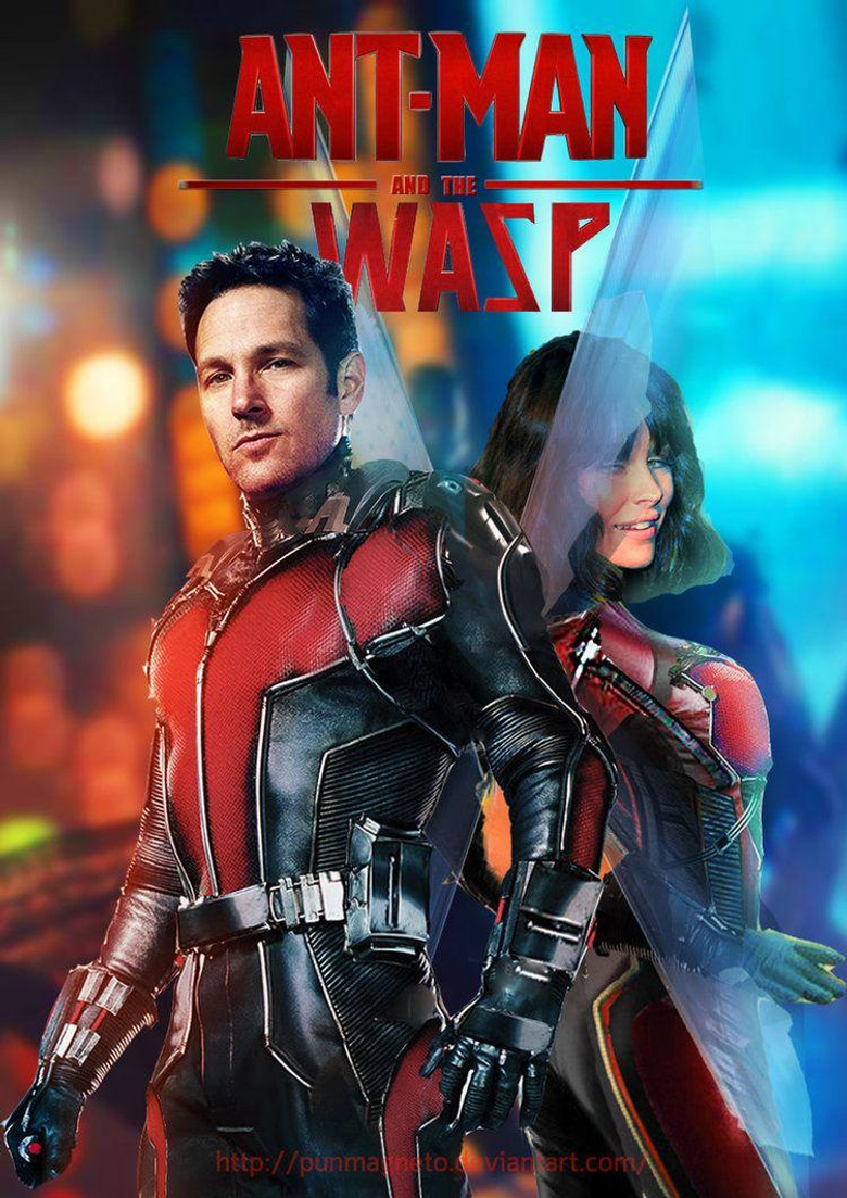 Ant man and the Wasp fanmade poster by punmagneto