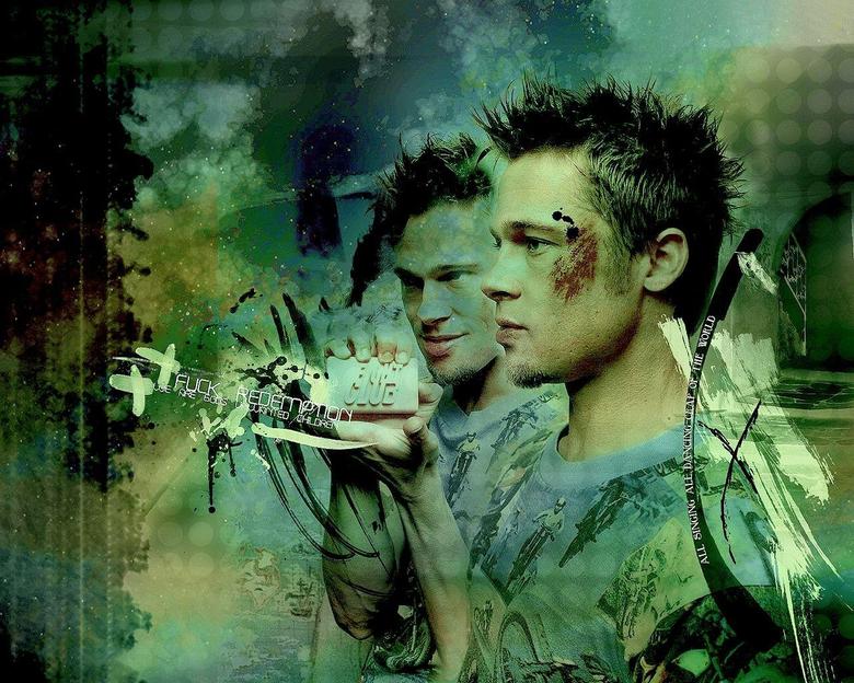 amal8ousia Brad Pitt Fight Club Wallpapers