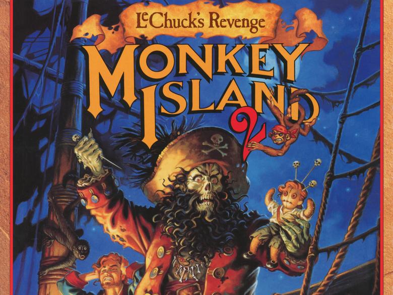 Monkey Island 2 Lechuck s Revenge 4k Ultra HD Wallpapers