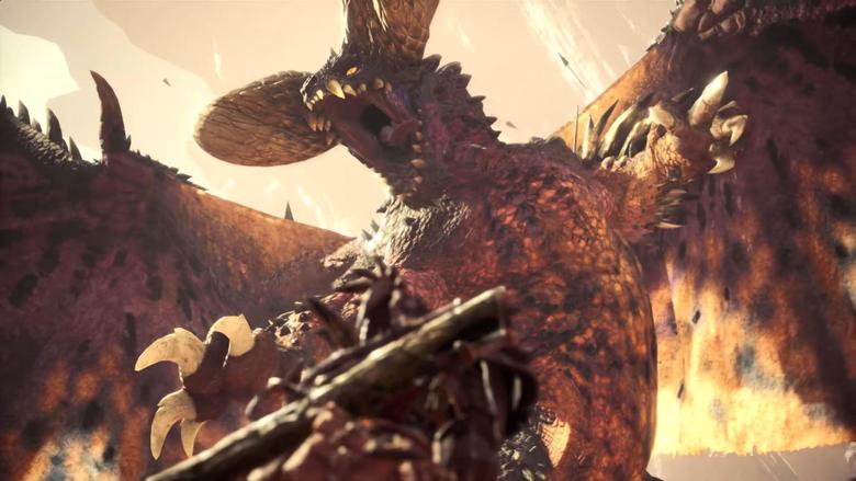 New Monster Hunter World Gameplay Video Shows Brutal Nergigante Hunt