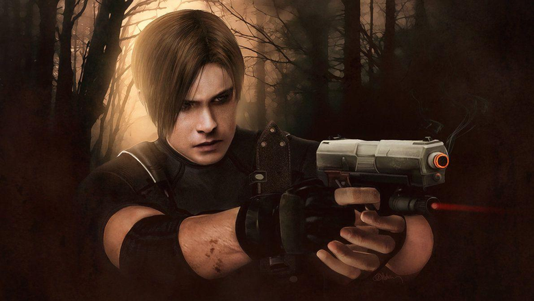 Resident evil 4 Leon Kennedy wallpapers by push
