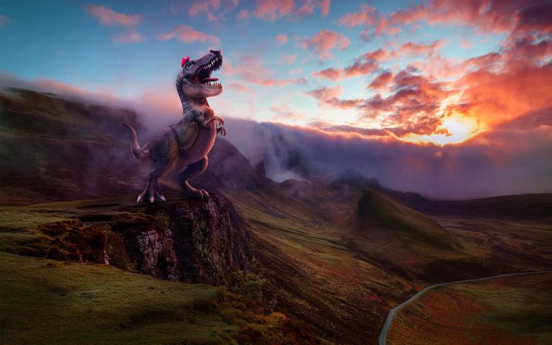 Super Mario Odyssey Dinosaur 4K Wallpapers