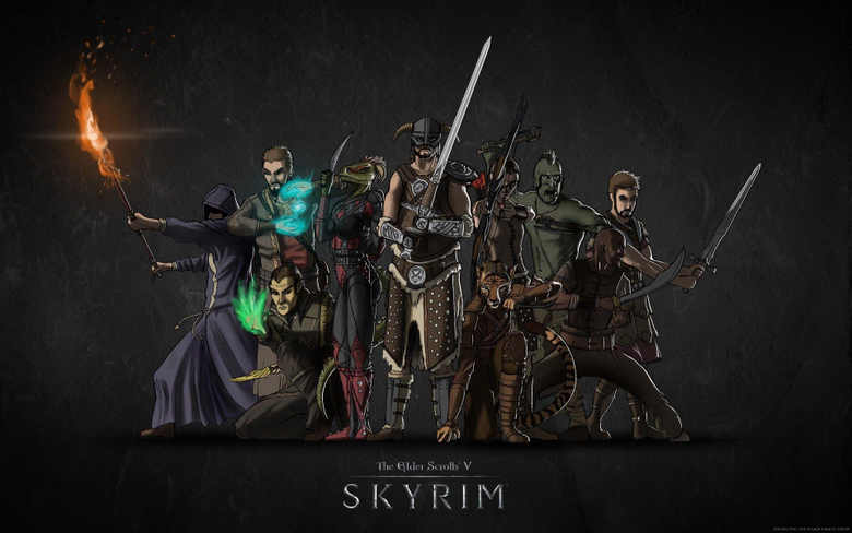 The Elder Scrolls V Skyrim wallpapers