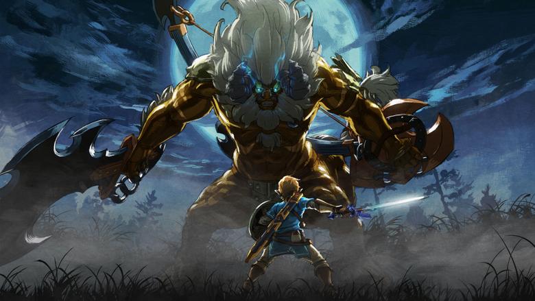 The Legend of Zelda Breath of the Wild The Master Trials DLC 4K 8K