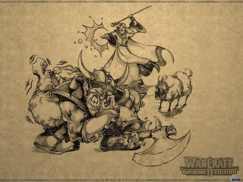 Wallpapers grey warcraft 2 battle edition tides of