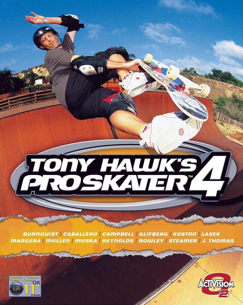 Tony Hawk s Pro Skater 4