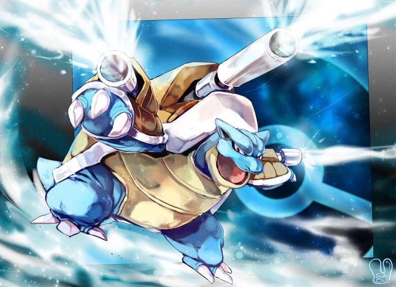 Mega Blastoise HD Wallpapers