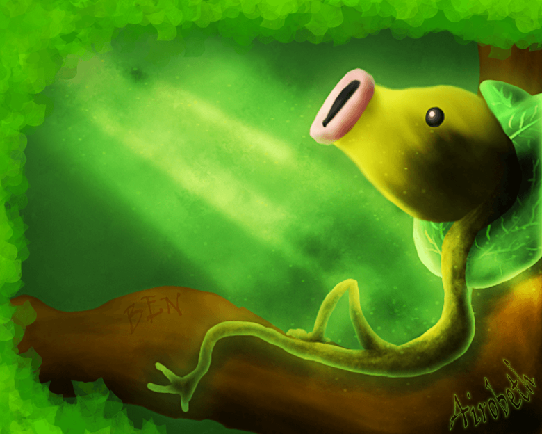 Ben The Bellsprout by Airobeth