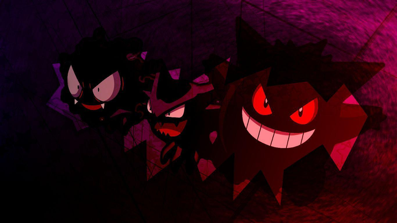 Gastly Haunter and Gengar image Gastly Haunter and Gengar HD