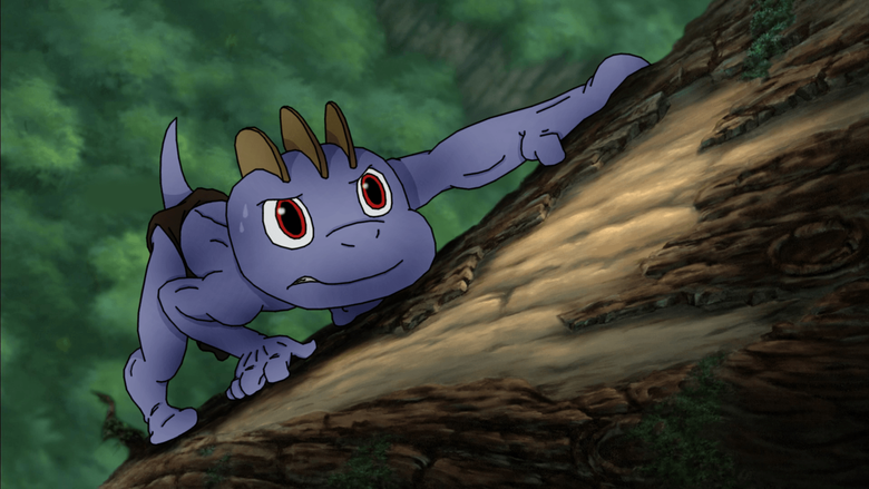 MACHOP AS YOUNG TARZAN Learning to Survive by PoKeMoN