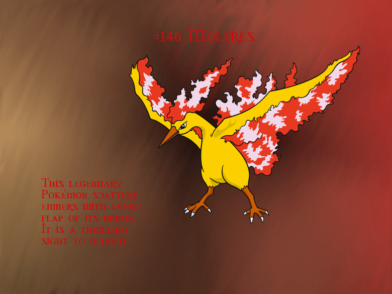 Moltres GIMP Wallpapers by Queen