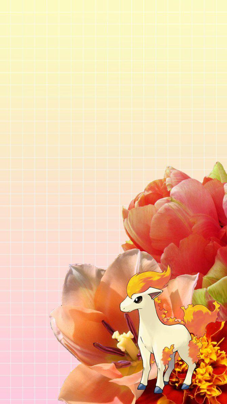Ponyta iPhone 6 Wallpapers by JollytheDitto