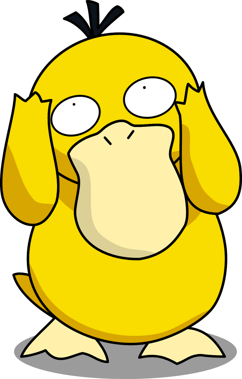 Silly Psyduck by Mighty355