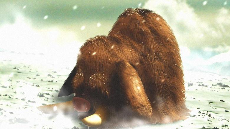 Snow digital art artwork mammoth snowing piloswine wallpapers