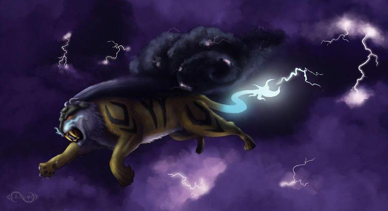 Storm Raikou by Legend13
