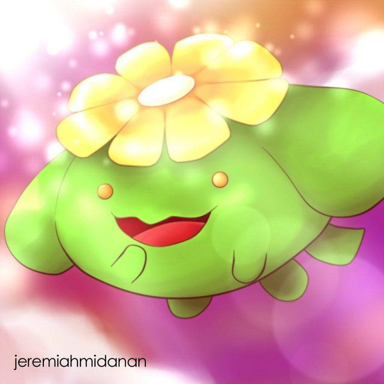 Pokemon Skiploom by MayaIdanan