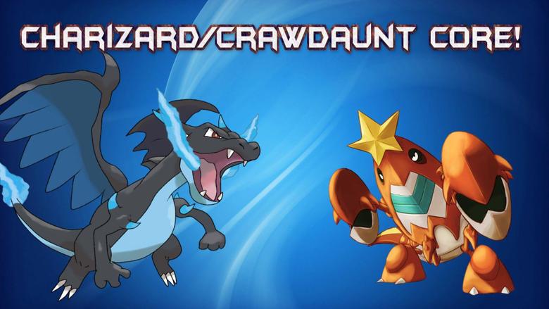 OR AS Pokemon Sowdown OU Live Charizard X Crawdaunt Core