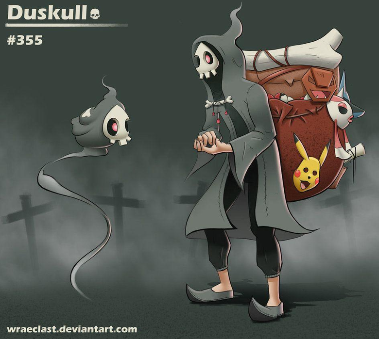 Duskull Concept Happy Mask Salesman Remix by Wraeclast