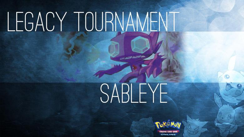 Legacy Tournament Sableye Pokémon TCG PTCGO