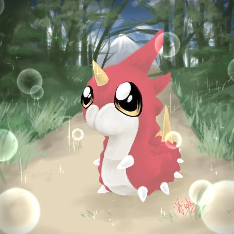 My Little Wurmple by SpiderShii