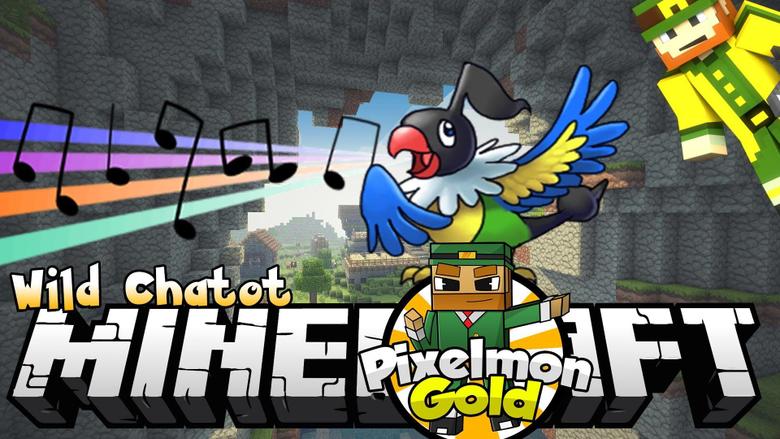 Minecraft Pixelmon Gold Wild Chatot
