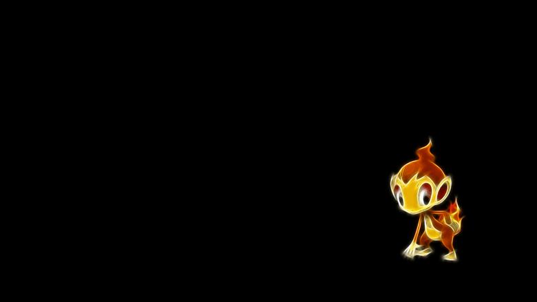 ScreenHeaven Pokemon chimchar simple backgrounds desktop and mobile