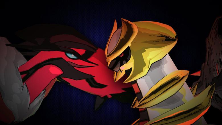 Giratina vs Yveltal Mega Pokemon Rap Battles SCRAPPED SERIES