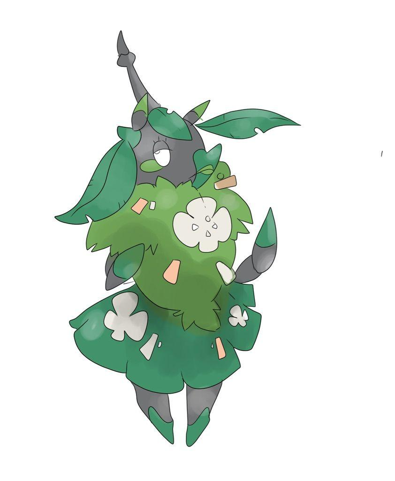 OC saw an alt version of Wormadam so I decided to make my own