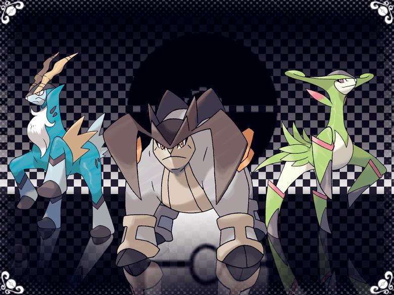 Legendary Pokemon image Cobalion Terrakion and Virizion HD