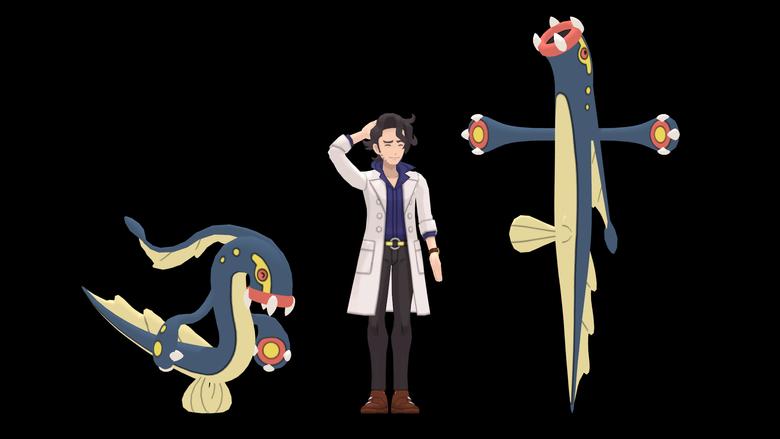 Size comparison through evolutions Tynamo pokemon
