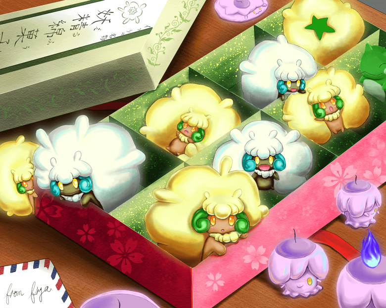 litwick and whimsicott