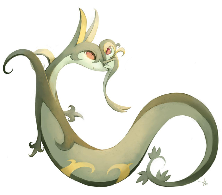 Snivy and Serperior Cuuuuute 3 Don t forget to like this Pokemon