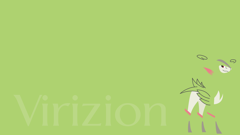 Virizion Wallpapers by juanfrbarros