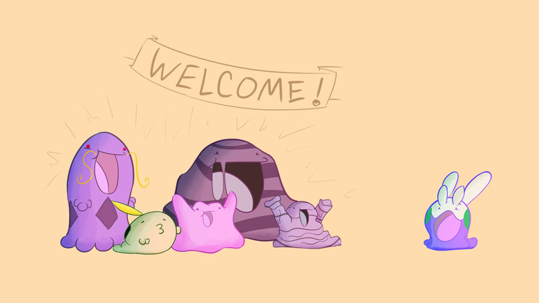 With all the Goomy love here I thought I d draw the welcoming party