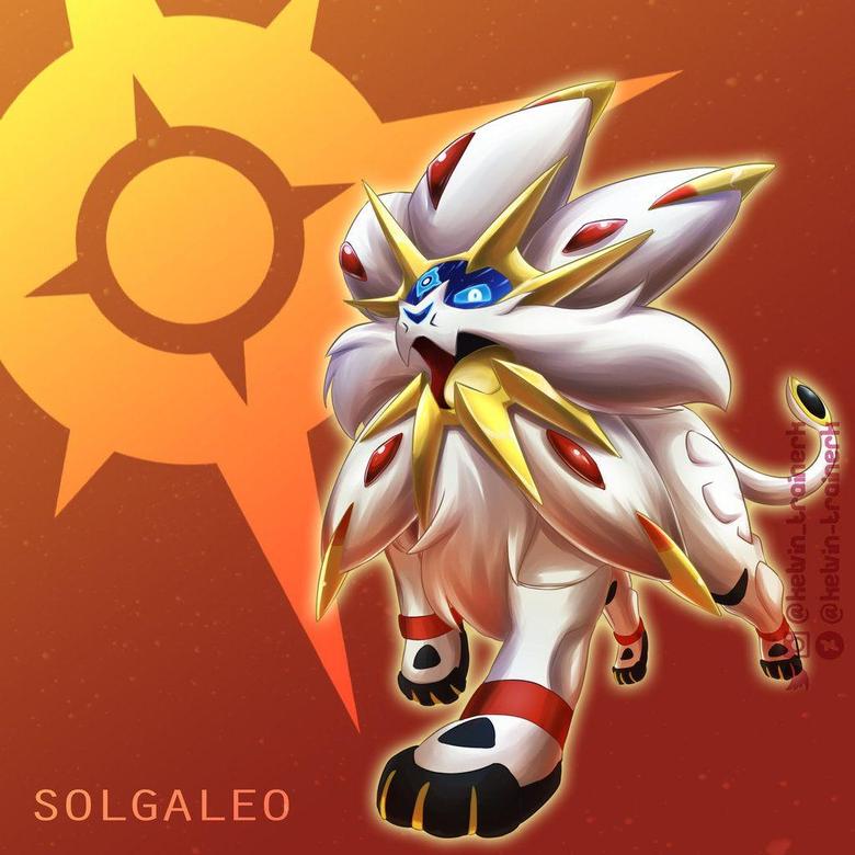 Solgaleo by kelvin